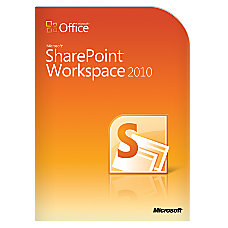 Microsoft SharePoint Workspace 2010 Traditional Disc