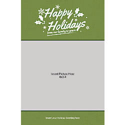 Photo Greeting Card Vertical From Our