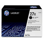 HP 27X High Yield Black Toner