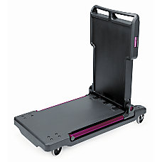 Rubbermaid Convertible Utility CartPlatform Truck BlackRed