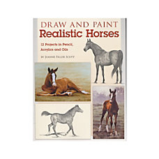 North Light Draw Paint Realistic Horses