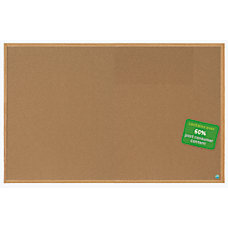 MasterVision Earth Cork Board With Fiberboard