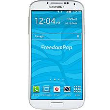 FreedomPop Refurbished Samsung Galaxy S4 Cell