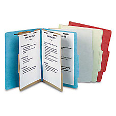 Pendaflex Heavy Duty Pressboard Classification Folder