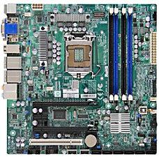 Supermicro C7SIM Q Desktop Motherboard Intel