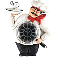 FirsTime French Chef Kitchen Clock 11