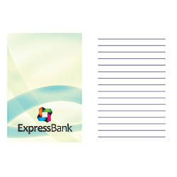 Notepad With Full Color Custom Cover