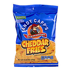 Andy Capps Snack Fries Cheddar 085