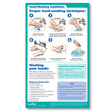ComplyRight Hand Washing Poster English 8