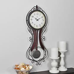 FirsTime Fleur Grand Pendulum Clock 25