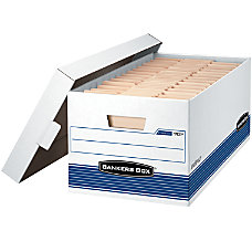 Bankers Box FastFold StorFile 60percent Recycled