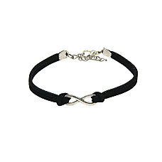 Infinity Bracelet Black