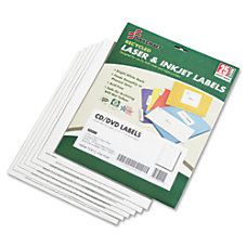 Laser CDDVD Matte Labels Pack Of