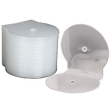 C Shell CD Storage Cases Clear