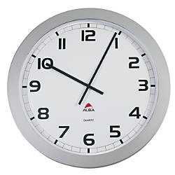 Alba Giant Round Wall Clock 23