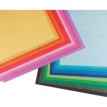 Pacon Spectra Assorted Color Tissue Pack 20 x 30 20 Colors ...