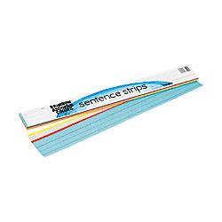 Rainbow Kraft Sentence Strips 3 H