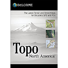 DeLorme Topo North America 90 Traditional