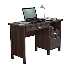 Inval Contemporary Engineered Wood Computer Desk