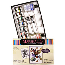 Marshalls Hobby Oil Set Photo Coloring