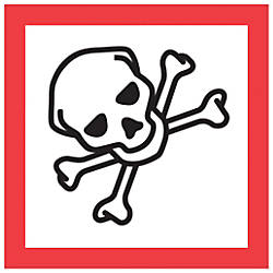 Tape Logic Pictogram Labels Skull And