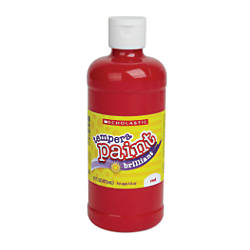 Scholastic Tempera Paint 16 Oz Red