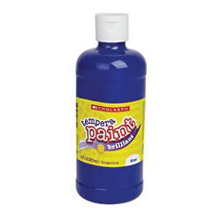 Scholastic Tempera Paint 16 Oz Blue