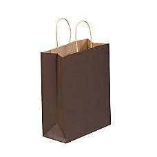 Partners Brand Brown Tinted Shopping Bags