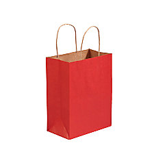 Partners Brand Scarlet Tinted Shopping Bags