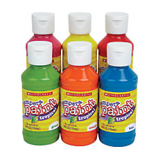 Scholastic Tropical Tempera Paints 4 Oz