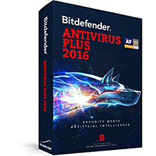 Bitdefender Antivirus Plus 2016 1 Users