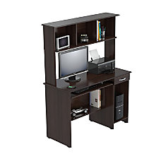 Inval Computer Workcenter With Hutch 61