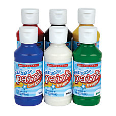 Scholastic Washable Tempera Paints Assortment 4