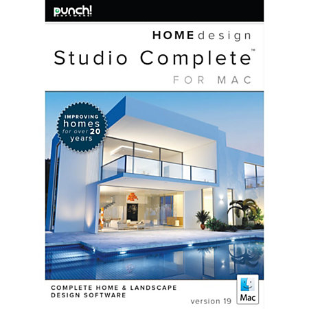 Punch home design studio complete for mac v19 download for Punch home landscape design for mac