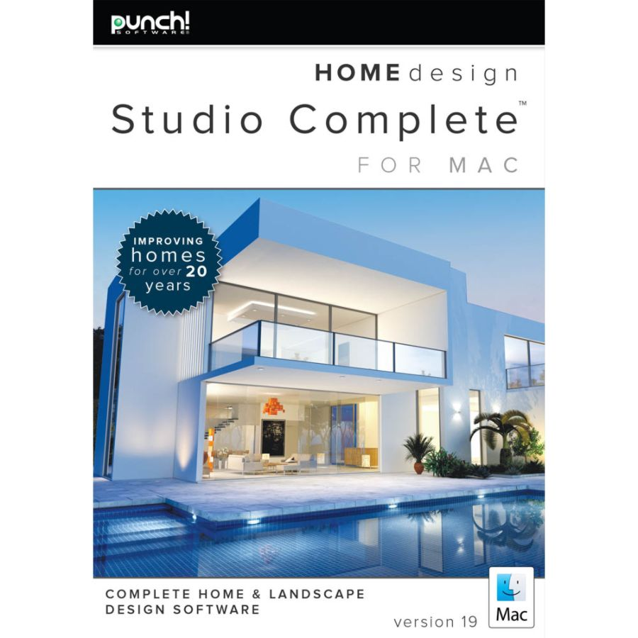 Punch Home Design Studio Complete for Mac v19 Download Version by