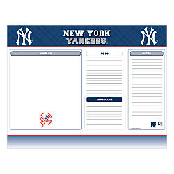 Markings By C R Gibson Desk Notepad 17 X 22 New York