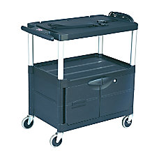 Rubbermaid MediaMaster Audio Visual Cart 32