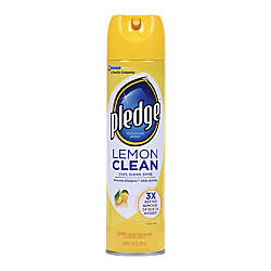 Pledge Lemon Clean Furniture Spray Ready