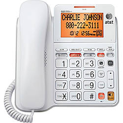 AT T CL4940 Standard Phone White
