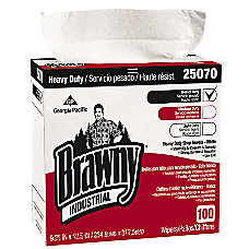 Brawny Medium Weight Industrial Wipes Box