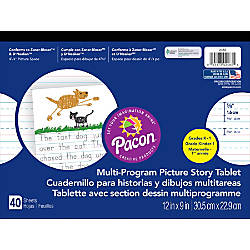 Pacon Multi Program Paper Tablets Grades