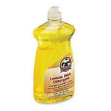Genuine Joe Lemon Scent Dishwashing Detergent