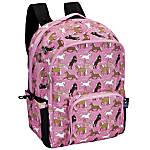 Wildkin Macropak Backpack Horses In Pink