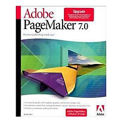 adobe pagemaker v 7 0 2 upgrade package 1 user by office depot officemax. Black Bedroom Furniture Sets. Home Design Ideas