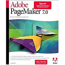 Adobe PageMaker v702 Upgrade Package 1