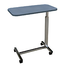 Medline Height Adjustable Overbed Table 30
