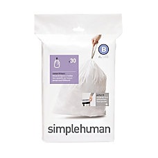 simplehuman Custom Fit 003 mil Can
