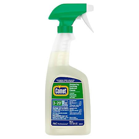 Comet Bathroom Cleaner 32 Oz Spray Bottle By Office Depot
