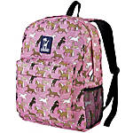 Wildkin Crackerjack Backpack Horses In Pink