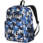 Wildkin Crackerjack Backpack Blue Camo